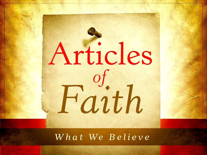 Six Kalimat (Articles of Faith)